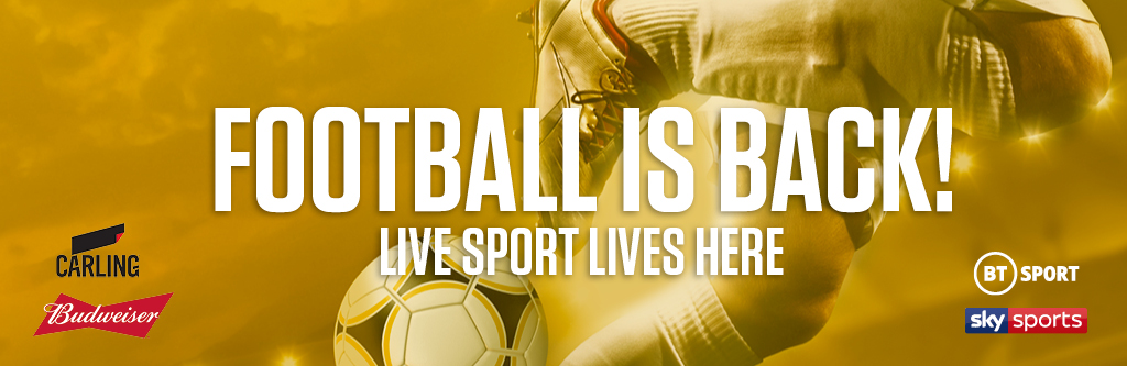 Watch live football at The Nursery Tavern