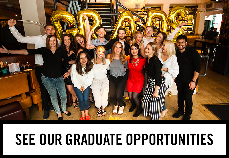 Graduate opportunities at The Nursery Tavern